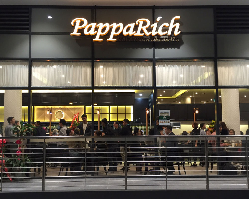 Papparich Bankstown Open For Dine In Takeaway Delivery